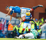 11.3.2018 Rangers v Celtic:<br /> Bruno Alves and Moussa Dembele