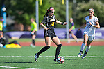 Jane Cline (10) of the Appalachian State Mountaineers controls the ball during first half action against the High Point Panthers at Vert Track, Soccer & Lacrosse Stadium on August 26, 2016 in High Point, North Carolina.  The Panthers defeated the Mountaineers 2-0.  (Brian Westerholt/Sports On Film)