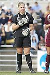 28 November 2008: Texas A&M's Kelly Dyer. The University of North Carolina Tar Heels defeated the Texas A&M University Aggies 1-0 in double overtime at Fetzer Field in Chapel Hill, North Carolina in a Fourth Round NCAA Division I Women's college soccer tournament game.