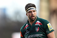 Mike Fitzgerald of Leicester Tigers. Aviva Premiership match, between Leicester Tigers and London Irish on January 6, 2018 at Welford Road in Leicester, England. Photo by: Patrick Khachfe / JMP