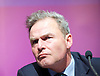 Peter Whittle <br /> UKIP Culture Spokesman<br /> and UKIP Economy Spokesman Patrick O'Flynn host a press briefing on St George's Day 23rd April 2015 at One Great George Street, London, Great Britain <br /> <br /> Peter Whittle <br /> <br /> <br /> Photograph by Elliott Franks <br /> Image licensed to Elliott Franks Photography Services
