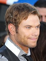 WESTWOOD, LOS ANGELES, CA, USA - JUNE 10: Kellan Lutz at the World Premiere Of Columbia Pictures' '22 Jump Street' held at the Regency Village Theatre on June 10, 2014 in Westwood, Los Angeles, California, United States. (Photo by Xavier Collin/Celebrity Monitor)