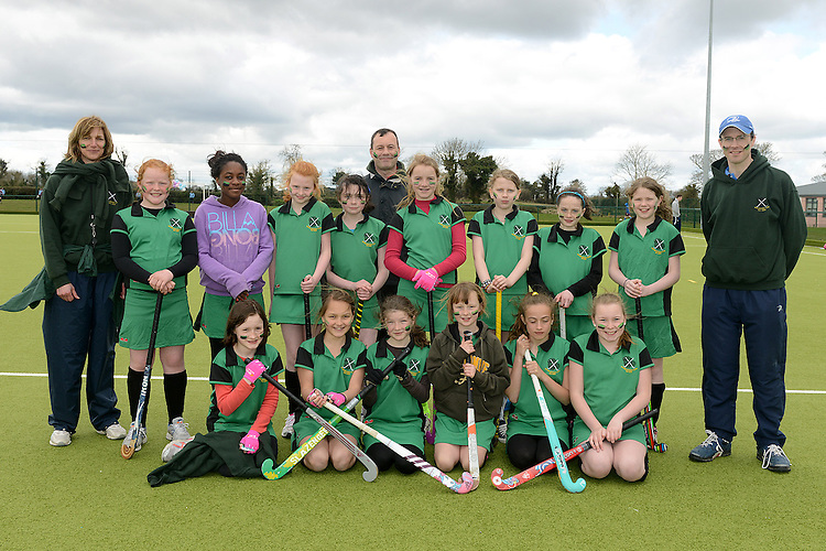 Boyne Hockey Club who took part in the Leinster Hockey Association Festival at the Grammar School. Photo:Colin Bell/pressphotos.ie