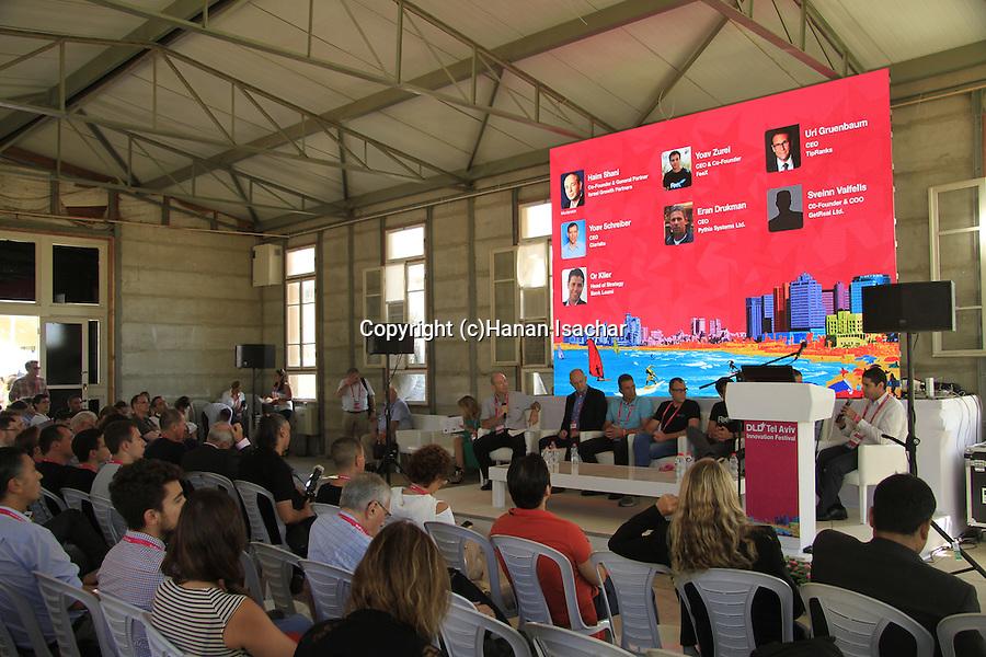 DLD Tel Aviv, Israel's largest international Hi-Tech gathering features hundreds of start ups, investors and leading international companies
