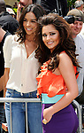 "LOS ANGELES, CA - MAY 08:  Terri Seymour and Cheryl Cole attend  the ""The X Factor"" auditions at Galen Center on May 8, 2011 in Los Angeles, California.  (Photo by Chris Walter/WireImage)"