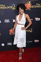 "11 July 2017 - Hollywood, California - Wendy Raquel Robinson. Disney's ""Descendants 2"" Los Angeles Premiere held at the ArcLight Cinerama Dome in Hollywood. Photo Credit: Birdie Thompson/AdMedia"