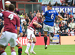 Lee McCulloch scores for Rangers with a header