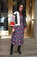 NEW YORK, NY - FEBRUARY 9: Chalita Suansane at Kate Spade - Presentation - February 2018 - New York Fashion Week: The Shows at Masonic Hall in New YorkCity on February 09, 2018. <br /> CAP/MPI/RW<br /> &copy;RW/MPI/Capital Pictures
