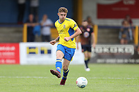 Taylor Miles of St Albans plays a pass during St Albans City vs Stevenage, Friendly Match Football at Clarence Park on 13th July 2019