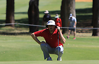Ryan Evans (ENG) in action on the 10th during Round 3 of the ISPS Handa World Super 6 Perth at Lake Karrinyup Country Club on the Saturday 10th February 2018.<br /> Picture:  Thos Caffrey / www.golffile.ie<br /> <br /> All photo usage must carry mandatory copyright credit (&copy; Golffile | Thos Caffrey)