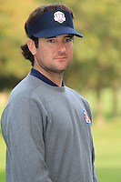Bubba Watson at the USA Team photo shoot during Monday's Practice Day of the 39th Ryder Cup at Medinah Country Club, Chicago, Illinois 25th September 2012 (Photo Eoin Clarke/www.golffile.ie)