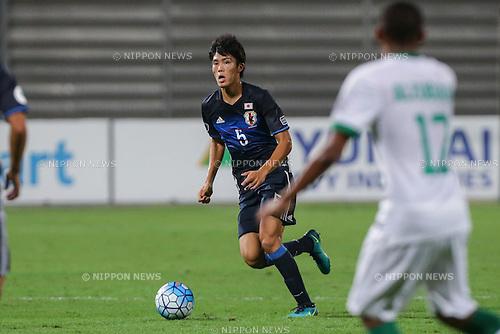 Takehiro Tomiyasu (JPN), OCTOBER 30, 2016 - Football / Soccer : AFC U-19 Championship Bahrain 2016 Final match between Japan 0(5-3)0 Saudi Arabia at Bahrain National Stadium in Riffa, Bahrain. (Photo by AFLO)
