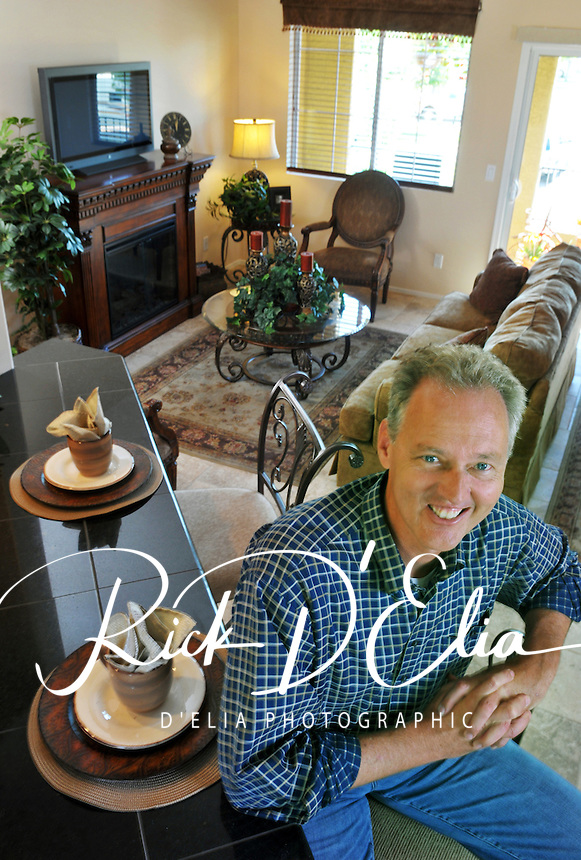 Former Phoenix Mayor, Paul Johnson is CEO of Old World/Berkana homes is developing a series of condominiums in north Phoenix where not one home is identical to any other. His company has recently launched a series of money-wise incentives to first-time buyers to purchase new, affordable homes close to downtown Phoenix. (Rick D'Elia)