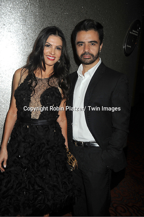 Az Avaujo and Adriana de Moura of The Real Housewives of Miami attends the Vanidades Magazine  Icons of Style Gala on September 27, 2012 at the Mandarin Oriental Hotel in New York City.
