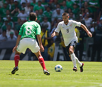 Clint Demsey. USA Men's National Team loses to Mexico 2-1, August 12, 2009 at Estadio Azteca, Mexico City, Mexico. .   .