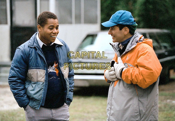 CUBA GOODING JR. & MIKE TOLLIN (DIRECTOR).on the set of Radio.Filmstill - Editorial Use Only.Ref: FB.www.capitalpictures.com.sales@capitalpictures.com.Supplied by Capital Pictures.