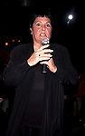 Keely Smith performing her show 'The Queen of Swing is Back!' at Irving Plaza on June 14, 2000 in New York City.