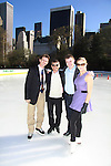 Todd Eldriege - Paul Wylie  - Timothy Goebel - Nicole Bobek - The 2012 Skating with the Stars  - a benefit gala for Figure Skating in Harlem celebrating 15 years on April 2, 2012 at Central Park's Wollman Rink, New York City, New York.  (Photo by Sue Coflin/Max Photos)
