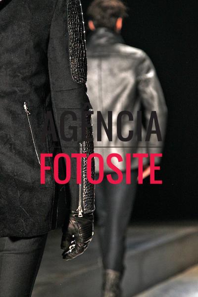 Milao, Italia &ndash; 01/2014 - Desfile de John Varvatos durante a Semana de moda masculina de Milao - Inverno 2014. <br /> Foto: FOTOSITE