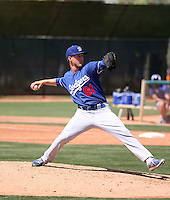 Corey Copping - Los Angeles Dodgers 2016 spring training (Bill Mitchell)