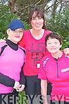 Martha Coffey Scartaglen, Barbara Dineen Killarney and Mary Casey Scartaglen who walked in the Kerry Life Education walk in Killarney on Sunday......