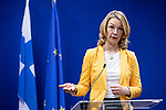 BRUSSELS - BELGIUM - 13 December 2019 -- EU-Summit with Heads of State - European Council meeting - Presidency of Finland. -- Tytti Tuppurainen, Europe Minister of Finland.  -- PHOTO: Juha ROININEN / EUP-IMAGES