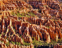 Overall view of Bryce Canyon National Park. Utah.