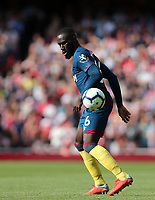 West Ham United's Arthur Masuaku<br /> <br /> Photographer Rob Newell/CameraSport<br /> <br /> The Premier League - Arsenal v West Ham United - Saturday August 25th 2018 - The Emirates - London<br /> <br /> World Copyright © 2018 CameraSport. All rights reserved. 43 Linden Ave. Countesthorpe. Leicester. England. LE8 5PG - Tel: +44 (0) 116 277 4147 - admin@camerasport.com - www.camerasport.com