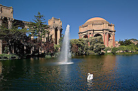 Palace of Fine Arts, Presidio of San Francisco, California.Golden Gate National Recreation Area.Palace of Fine Arts, Presidio of San Francisco, California.Golden Gate National Recreation Area