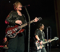 Goo Goo Dolls, from Buffalo New York, play at the O2 Academy in Glasgow on Sunday 7th November 2010.. .Pictures: Peter Kaminski/Universal News and Sport (Europe)2010