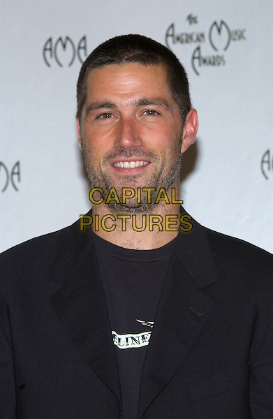 MATTHEW FOX.32nd Annual American Music Awards held at the Shrine Auditorium. .14 November 2004.headshot, portrait, stubble, facial hair.www.capitalpictures.com.sales@capitalpictures.com.© Capital Pictures.
