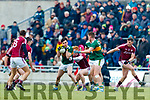Kerry in action against  Galway in the Allianz Football League Division 1 Round 4 match between Kerry and Galway at Austin Stack Park, Tralee, Co. Kerry.