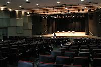 SÃO PAULO, SP, 18.08.2015- TEATRO-SP - Teatro Arthur Azevedo após três anos fechado para obras foi reinaugurado hoje, no bairro da Mooca na região leste da cidade de São Paulo nesta terça-feira, 18. (Foto: Marcos Moraes / Brazil Photo Press)