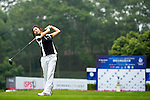 Cuixia Chen of China tees off on the 1st hole during the Round 1 of the Faldo Series Asia Grand Final at Mission Hills on March 2, 2011 in Shenzhen, China. Photo by Raf Sanchez / Faldo Series