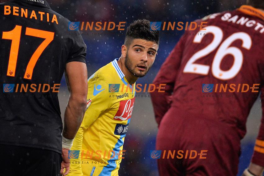 Lorenzo Insigne Napoli <br /> Roma 05-02-2014 Stadio Olimpico - Football Calcio Coppa Italia 2013/2014 AS Roma - Napoli Foto Andrea Staccioli / Insidefoto