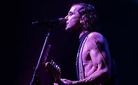 SAO PAULO, SP  - 14.02.2019  - SHOW-SP - Apresentação da banda Bush no Credicard Hall na noite desta quinta-feira (14) na zona sul de São Paulo.<br /> <br /> (Foto: Fabricio Bomjardim / Brazil Photo Press)
