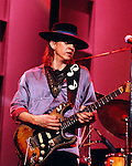 Stevie Ray Vaughan 1973<br /> &copy; Chris Walter
