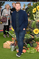 James Corden at the &quot;Peter Rabbit&quot; premiere at the Vue West End, Leicester Square, London, UK. <br /> 11 March  2018<br /> Picture: Steve Vas/Featureflash/SilverHub 0208 004 5359 sales@silverhubmedia.com