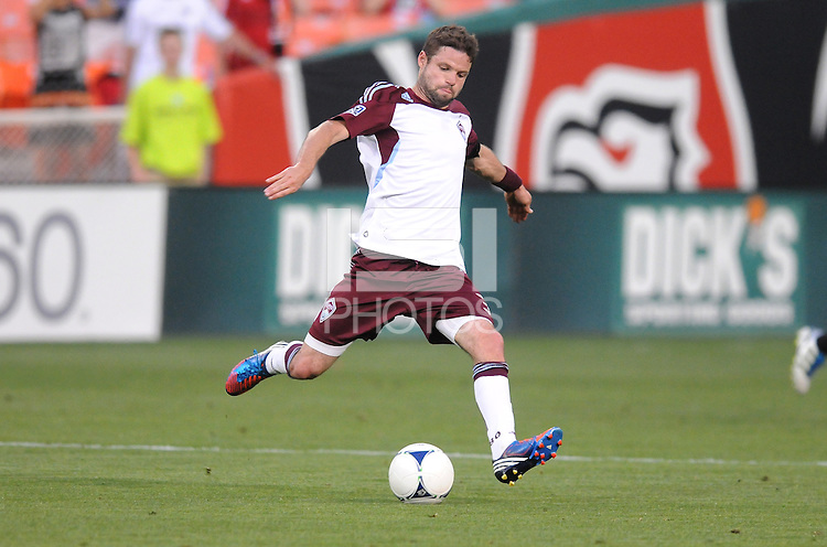 Colorado Rapids defender Drew Moor (3)  D.C. United defeated the Colorado Rapids 2-0 at RFK Stadium, Wednesday May 16, 2012.