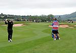 Northern Ireland's Darren Clarke in action during today's round<br /> <br /> Golf - Day 2 - ISPS Handa Wales Open 2013 - Twenty Ten Course- Friday 30th August 2013 - Celtic Manor Resort  - Newport<br /> <br /> © www.sportingwales.com- PLEASE CREDIT IAN COOK