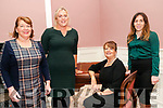 Attending the Kerry Women's Business Network meeting held at the  Butler Centre, Listowel  on Wednesday 23rd Niovember were Maire Griffin, Breda Hurley, Mairead Moriarity & Caitril Griffin.
