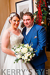 Geraldine McCarthy, Castlegregory, daughter of Gerard and Marie McCarthy, and Stevie Martin, Camp, son of William and Helen Martin, were married at St. Mary's Church Castlegregory by Fr. Hussey on Saturday 28th November 2015 with a reception at Ballygarry House hotel