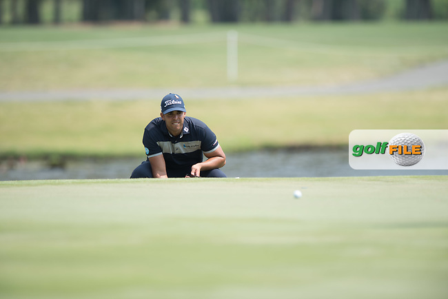 Dimitrios Papadatos (NZL) during the final round of the Australian PGA Championship, Royal Pines Resort Golf Course, Benowa, Queensland, Australia. 02/12/2018<br /> Picture: Golffile | Anthony Powter<br /> <br /> <br /> All photo usage must carry mandatory copyright credit (© Golffile | Anthony Powter)