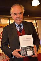 "Frédéric Mitterrand signs his book "" La Récréation "" in Brussels - Belgium"