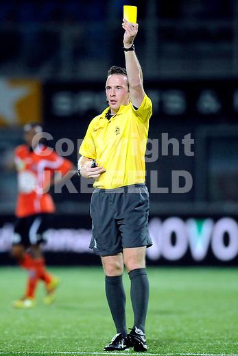 ZWOLLE - Voetbal, FC Zwolle - FC Volendam , seizoen 2011-2012, 16-09-2011 arbiter E. van der Graaf. ANP PRO SHOTS