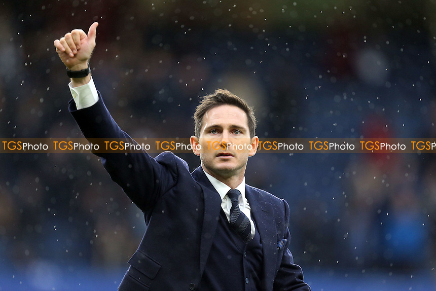 Frank Lampard waves to the fans at half time  during Chelsea vs Swansea City, Premier League Football at Stamford Bridge on 25th February 2017