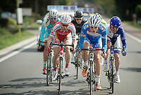 breakaway group with Jan Ghyselinck (BEL/Wanty-Groupe Gobert) leading<br /> <br /> 102nd Scheldeprijs 2014
