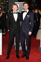 James D'Arcy arriving for the BAFTA Film Awards 2018 at the Royal Albert Hall, London, UK. <br /> 18 February  2018<br /> Picture: Steve Vas/Featureflash/SilverHub 0208 004 5359 sales@silverhubmedia.com