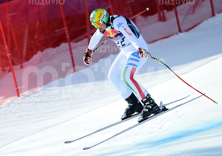 Ski Alpin Weltcup  Saison 2012/2013   73. Hahnenkammrennen Abfahrt  Training  24.01.2013 Dominik Paris (ITA)