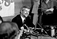 June 1st,1985 File Photo - Alliance-Quebec convention - Pierre-Marc Johnson